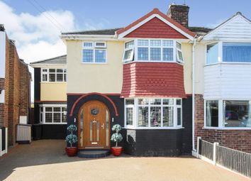 Thumbnail 4 bed semi-detached house for sale in Emmett Street, Barnton, Northwich