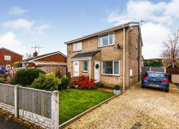 Thumbnail 2 bed semi-detached house for sale in Hunters Drive, Dinnington, Sheffield