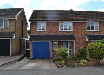 Thumbnail 3 bed semi-detached house for sale in Mallicot Close, Lichfield, Staffordshire