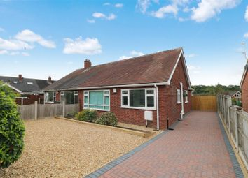 Thumbnail 3 bed semi-detached bungalow for sale in Werburgh Drive, Trentham, Stoke-On-Trent