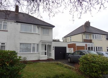 Thumbnail 3 bed semi-detached house to rent in Antony Road, Shirley, Solihull
