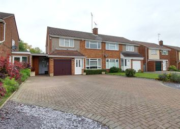 Thumbnail 3 bed semi-detached house for sale in Ambleside Close, Woodley, Reading, Berkshire
