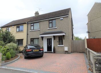 Thumbnail 3 bed semi-detached house for sale in Churchward Avenue, Swindon