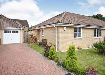 Thumbnail 2 bed semi-detached bungalow for sale in Monarch Close, Wymondham