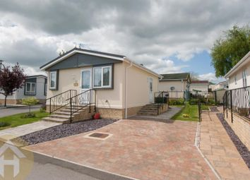 Thumbnail 1 bed mobile/park home for sale in Lillybrook Estate, Lyneham, Chippenham