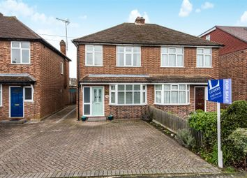Thumbnail 3 bedroom semi-detached house for sale in Cottimore Lane, Walton-On-Thames