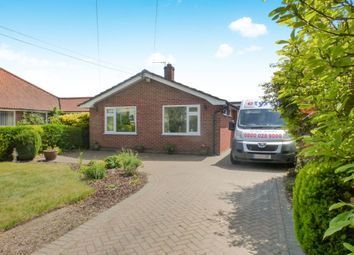 Thumbnail 2 bedroom detached bungalow for sale in Hargham Road, Old Buckenham, Attleborough