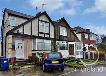Thumbnail 3 bed semi-detached house for sale in Great North Way, Hendon