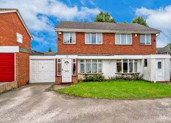 Thumbnail 3 bed semi-detached house for sale in Foxhill Close, Heath Hayes, Cannock