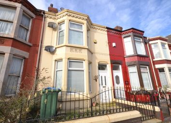 Thumbnail 3 bed terraced house to rent in Clifton Road East, Liverpool