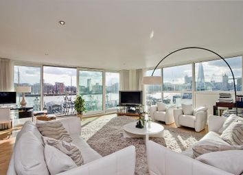 Thumbnail 3 bed flat for sale in Cinnabar Wharf West, 22 Wapping High Street, London