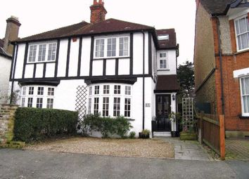 Thumbnail 4 bed semi-detached house to rent in Oxhey Avenue, Watford