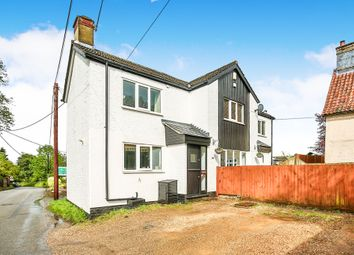Thumbnail 4 bed detached house for sale in The Street, Costessey, Norwich