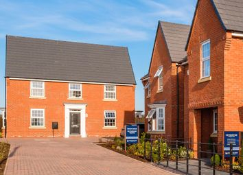 "Thumbnail 3 bedroom detached house for sale in ""Hadley"" at Rush Lane, Market Drayton"