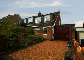 Thumbnail 3 bed semi-detached bungalow for sale in Longshaw Common, Wigan, Greater Manchester