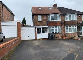 Thumbnail 4 bed semi-detached house to rent in Cottesbrook Road, Birmingham