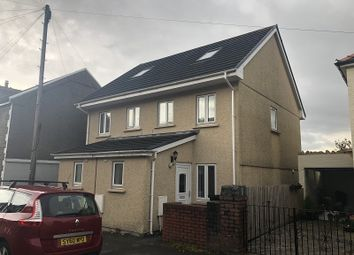 Thumbnail 3 bed semi-detached house to rent in Dynevor Road, Skewen, Neath, Neath Port Talbot.