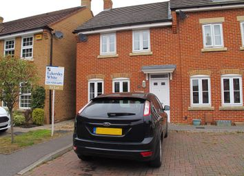 Thumbnail 3 bedroom end terrace house to rent in Summerleigh Walk, Stubbington, Fareham