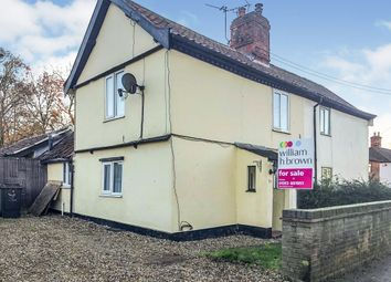 Thumbnail 3 bed cottage for sale in Brandon Road, Watton, Thetford