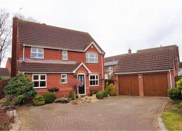Thumbnail 4 bed detached house for sale in Salisbury Drive, Bracebridge Heath, Lincoln