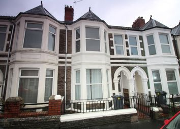Thumbnail 3 bed terraced house for sale in Tewkesbury Street, Roath, Cardiff