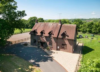 Thumbnail 5 bed equestrian property for sale in Uplands Road, Denmead, Waterlooville