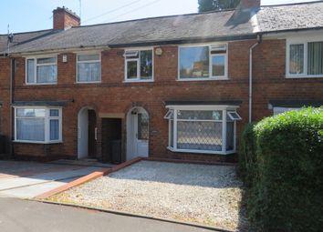 Thumbnail 3 bed terraced house for sale in Allcroft Road, Tyseley, Birmingham