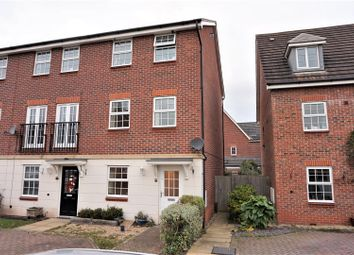 Thumbnail 4 bed town house for sale in Monks Way, Worksop