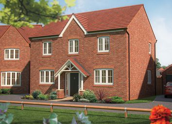 "Thumbnail 4 bedroom detached house for sale in ""The Chestnut "" at Marsh Lane, Nantwich"
