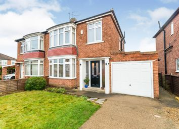 Thumbnail 3 bed semi-detached house for sale in Kipling Grove, Stockton-On-Tees