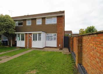 Thumbnail 3 bed end terrace house for sale in Avalon Way, Worthing, West Sussex
