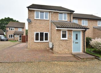 Thumbnail 3 bed semi-detached house for sale in Patticroft, Glemsford, Sudbury