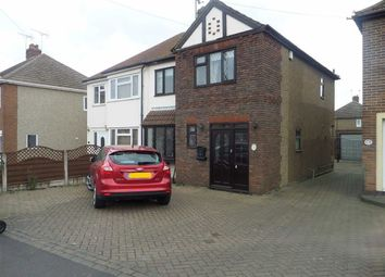 Thumbnail 4 bed semi-detached house for sale in Butts Lane, Stanford-Le-Hope, Essex
