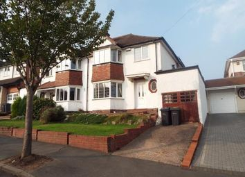 Thumbnail 3 bed semi-detached house for sale in Law Cliff Road, Great Barr, Birmingham, West Midlands