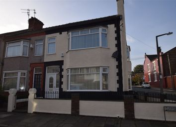 Thumbnail 4 bed end terrace house for sale in Gorsefield Road, Prenton, Merseyside