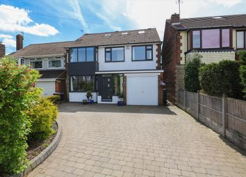 Thumbnail 4 bed detached house for sale in Bradway Road, Bradway, Sheffield