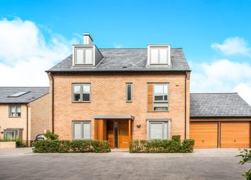 Thumbnail 5 bed detached house for sale in Huntsman Road, Trumpington, Cambridge