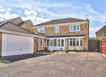 Thumbnail 4 bed detached house for sale in Derwent Close, Stukeley Meadows, Huntingdon, Cambridgeshire