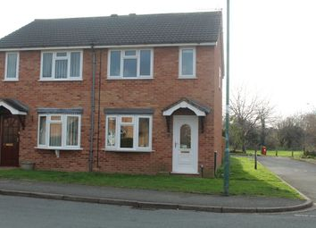 Thumbnail 2 bed semi-detached house to rent in Shaw Road, Shrewsbury, Shropshire