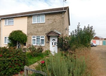 Thumbnail 2 bed end terrace house for sale in Bennett Avenue, Elmswell, Bury St. Edmunds