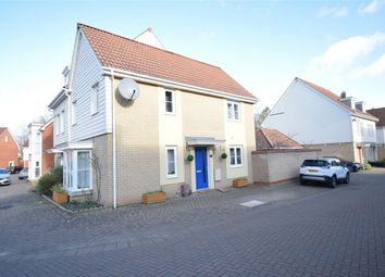 Thumbnail 3 bed semi-detached house for sale in Silvo Road, Queens Hill, Costessey, Norfolk