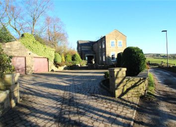 Thumbnail 4 bed detached house for sale in Hollingworth Fold House, Syke Road, Littleborough, Greater Manchester