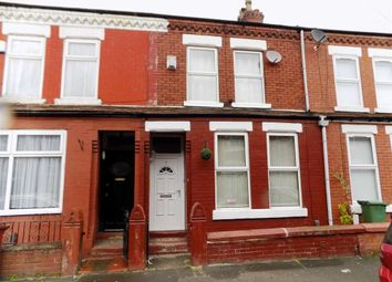 Thumbnail 3 bedroom terraced house for sale in Cronshaw Street, Levenshulme, Manchester