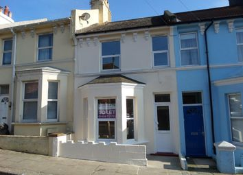 Thumbnail 3 bed terraced house to rent in St. Marys Road, Hastings