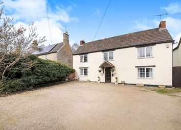 Thumbnail 4 bed detached house for sale in Quemerford, Calne