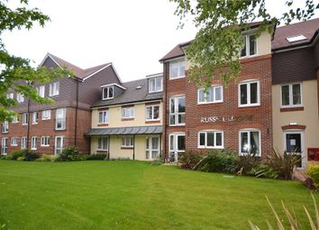 Thumbnail 1 bed property for sale in Russell Lodge, Branksomewood Road, Fleet