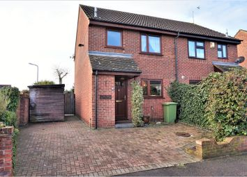 Thumbnail 3 bed semi-detached house for sale in Alverstoke Road, Romford