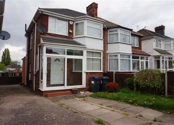 Thumbnail 3 bed semi-detached house for sale in Fairholme Road, Hodge Hill, Birmingham