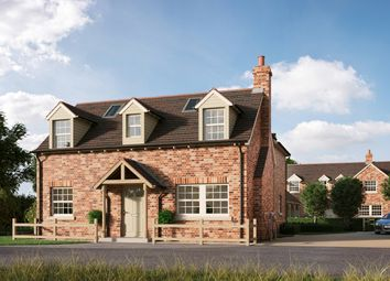 Thumbnail 4 bed detached house for sale in The Gate House, Potton Road, Royston