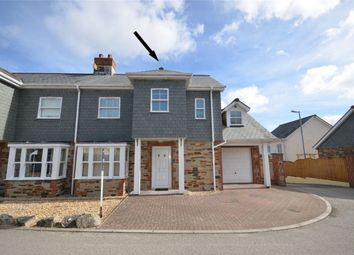 Thumbnail 3 bed semi-detached house for sale in The Square, Grampound Road, Truro, Cornwall